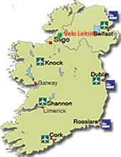 Map Of Ireland Knock Airport.Leitrim In The Scenic Nw Easy Access With Ryan Air Into Knock